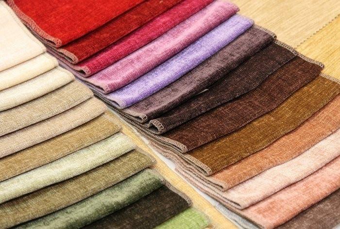 Виды мебельных тканей