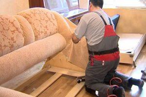 Обшивка мягкой мебели в Москве