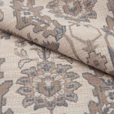 Жаккард PARAGUAY beige blue для обивки мебели