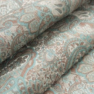 Жаккард Ткань SANSARA blue topaz для обивки мебели