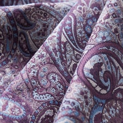 Жаккард Ткань SANSARA pink grapes для обивки мебели