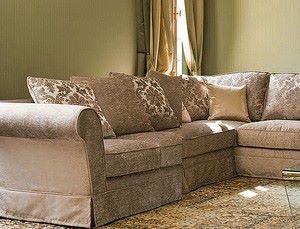 Горизонталь и вертикаль: обивка спинки дивана и сиденья