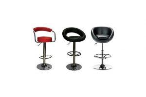 Перетяжка барных стульев: новый интерьер за три дня