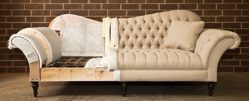 Качественная замена обивки дивана