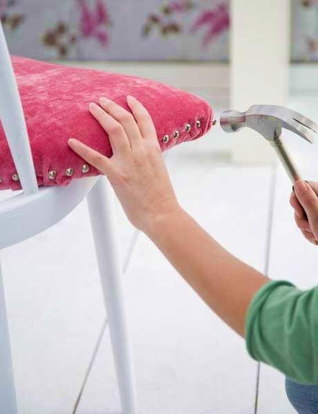 Как поменять обивку стула своими руками