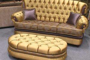 Перетяжка дивана из ткани