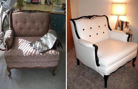 Переделка кресла