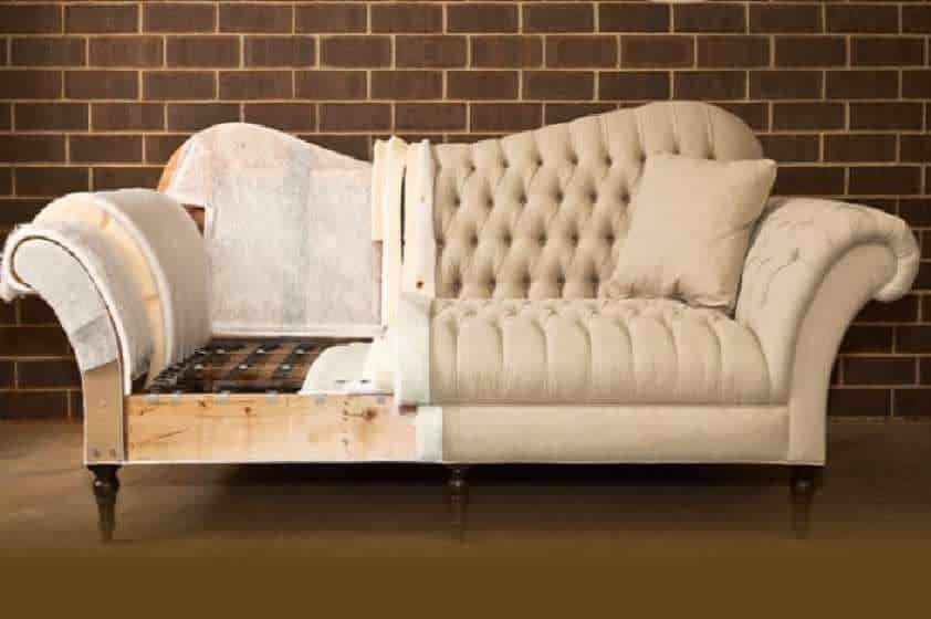 Замена обивки дивана от компании ГлавМебельРемонт