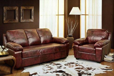 Ремонт кожаных диванов от компании ГлавМебельРемонт