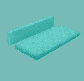 Подушка для софы Юность №2 по цене 8200\8800 руб.