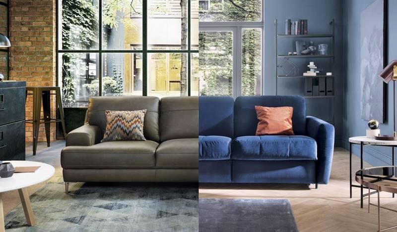 Кожаный диван против тканевого. Как выбрать, чтобы потом не жалеть